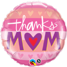 "Thanks M(Heart)M Foil Balloon (18"") 1pc"